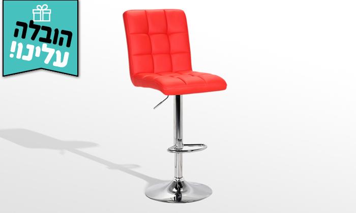 3  כיסא בר GAROX דגם קומו - משלוח חינם