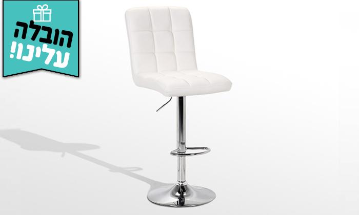 4  כיסא בר GAROX דגם קומו - משלוח חינם
