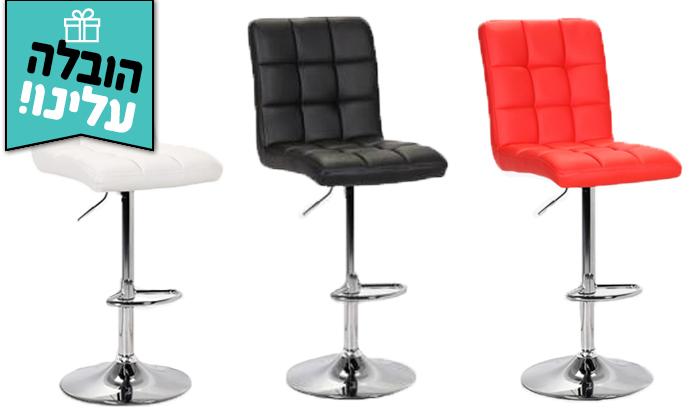 2  כיסא בר GAROX דגם קומו - משלוח חינם