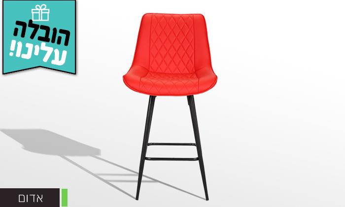 3 כיסא בר GAROX דגם טינה - משלוח חינם