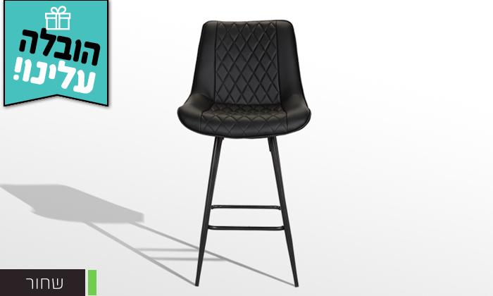 4 כיסא בר GAROX דגם טינה - משלוח חינם