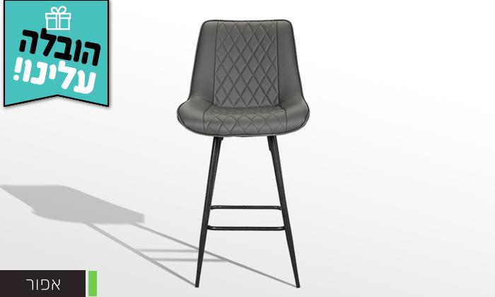 5 כיסא בר GAROX דגם טינה - משלוח חינם