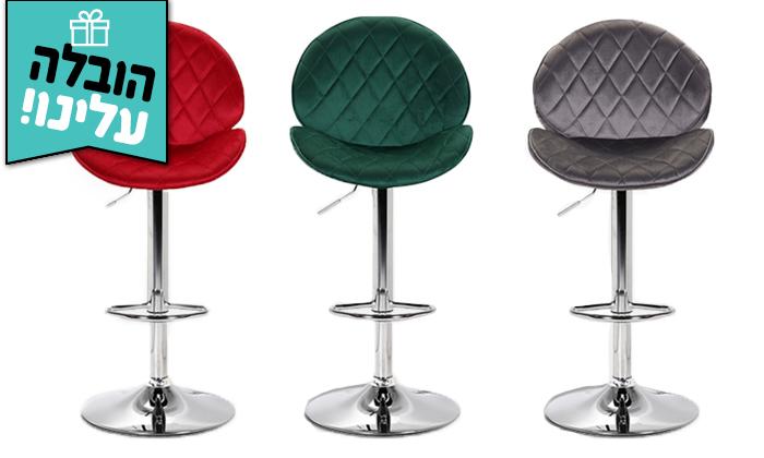2 כיסא בר GAROX דגם קטי - משלוח חינם