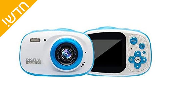 4 מצלמה לילדים לצילום רגיל ובתוך מים