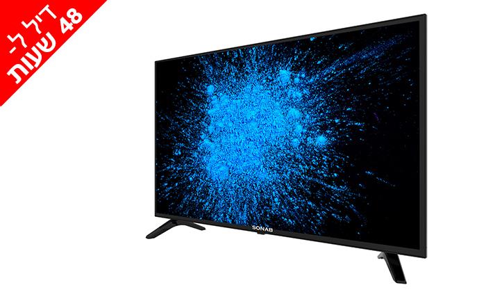 2 דיל ל-48 שעות: טלוויזיה חכמה 43 אינץ' SONAB