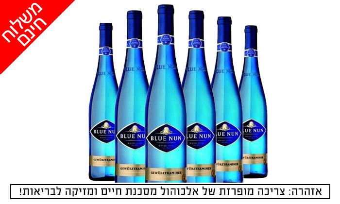 2 מארז 6 בקבוקי יין גווירצטרמינר בלו נאן במשלוח חינם מרשת שר המשקאות