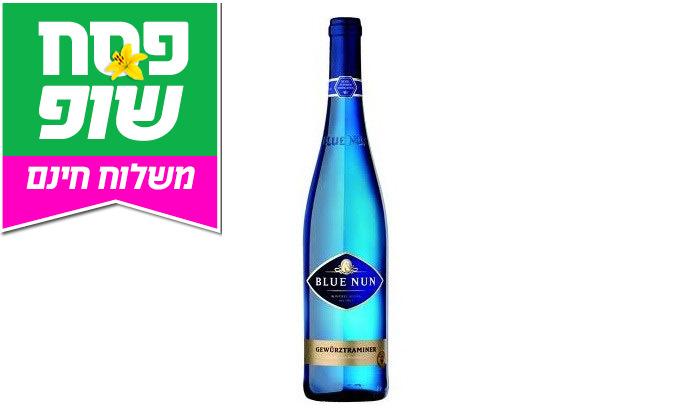 3 מארז 6 בקבוקי יין גווירצטרמינר בלו נאן במשלוח חינם מרשת שר המשקאות