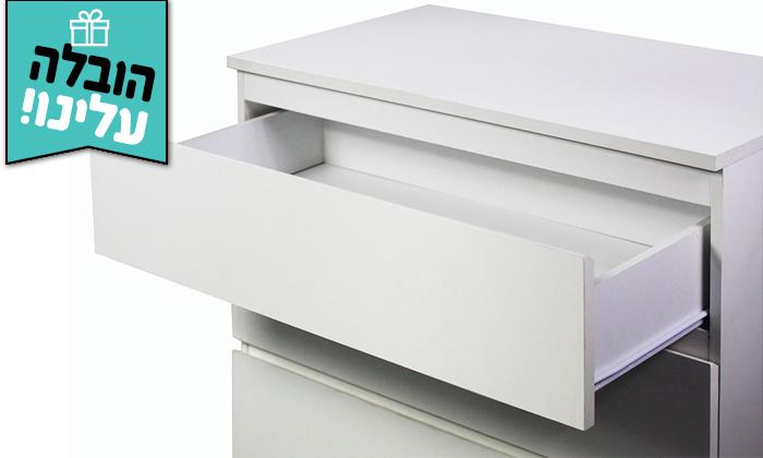 3 קומודה GAROX, דגם לורי - משלוח חינם
