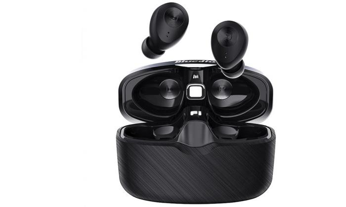 3 אוזניות אלחוטיות Bluedio דגםFI-Black