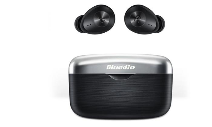 2 אוזניות אלחוטיות Bluedio דגםFI-Black