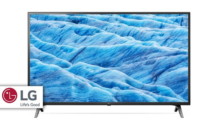 2 טלוויזיה חכמה 75 אינץ' LG