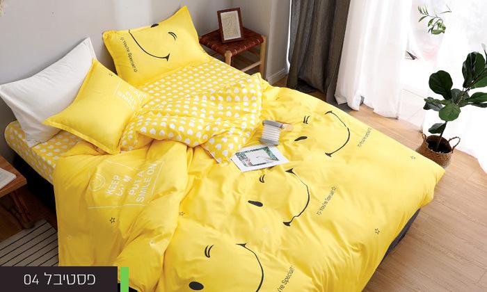 5 סט מצעים למיטת יחיד או למיטה וחצי במגוון דגמים
