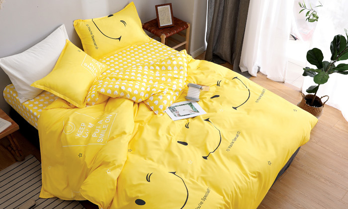 10 סט מצעים למיטת יחיד או למיטה וחצי במגוון דגמים