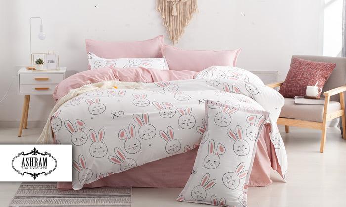 2 סט מצעים למיטת יחיד או למיטה וחצי במגוון דגמים