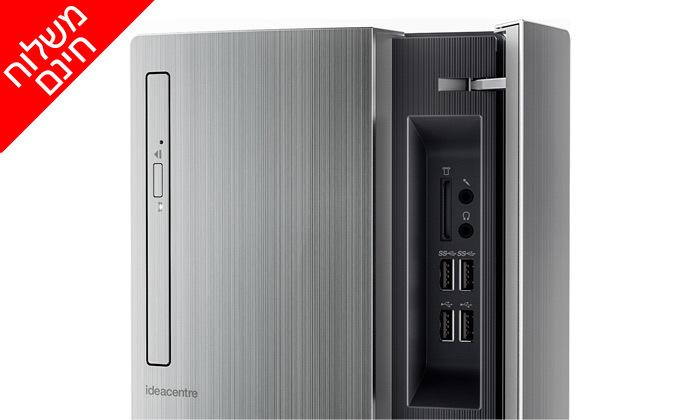 3 מחשב נייח מחודש לנובו לגיימרים Lenovo דגם 720-18ICB עם זיכרון 16GB ומעבד i7
