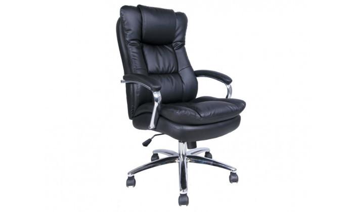 2 כיסא מנהלים בריפוד דמוי עור Planero