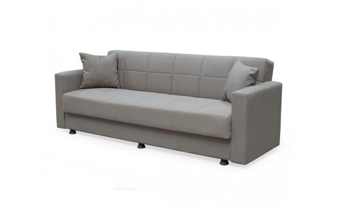 3 ספה תלת מושבית נפתחת למיטה BRADEX עם ארגז מצעים גדול