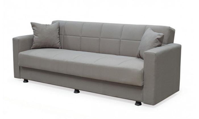 2 ספה תלת מושבית נפתחת למיטה BRADEX עם ארגז מצעים גדול