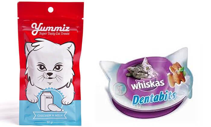 5 חבילת חטיפים לחתול