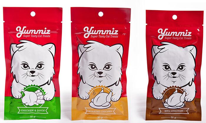 3 חבילת חטיפים לחתול