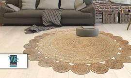שטיח חבל עגול
