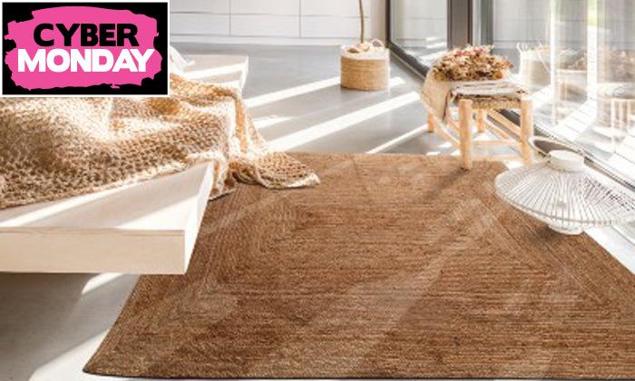 7 שטיח חבל כולל שטיחון