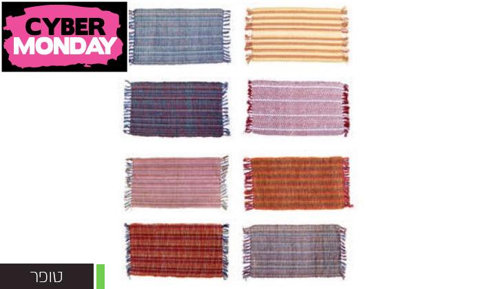 5 שטיח חבל כולל שטיחון