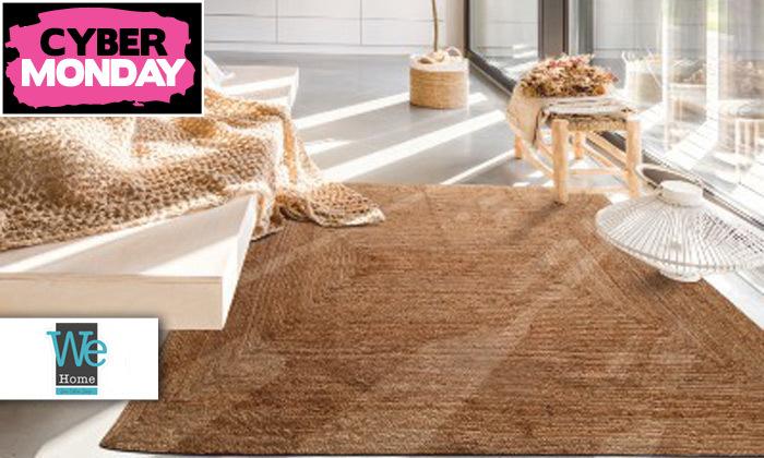 2 שטיח חבל כולל שטיחון