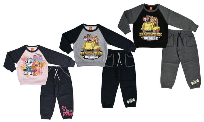 מארז 3 חליפות פוטר לילדים וילדות ניקלודיאוןNickelodeon, במשלוח חינם
