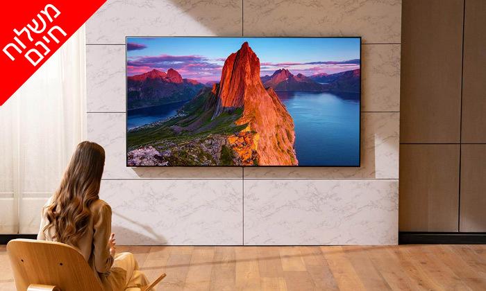 6 טלוויזיה חכמה75 אינץ'LG - משלוח חינם