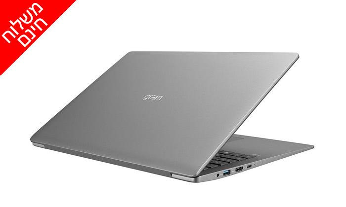 """4 מחשב נייד מעודפים LG מסדרת Gram עם מסך """"17, זיכרון 16GB ומעבד i7 - משלוח חינם"""