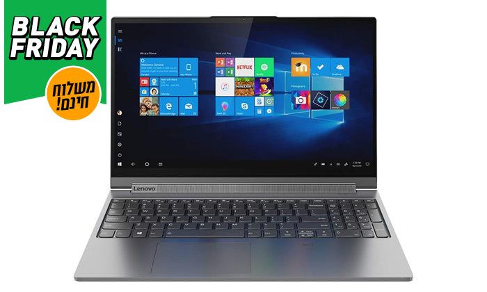 """5 מחשב נייד מוחדש Lenovo דגם Yoga C940-15RH עם מסך מגע """"15.6, זיכרון 12GB ומעבד i7 - משלוח חינם"""