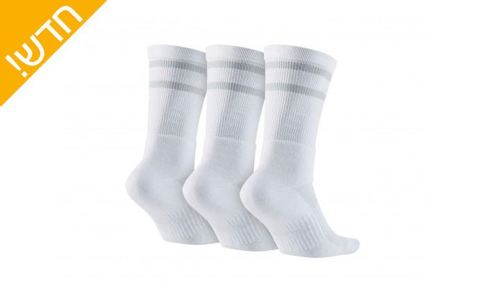 3 מארז שלושה זוגות גרביים נייקי יוניסקס דריי פיט Nike