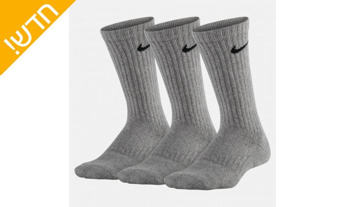 2 מארז 3 זוגות גרבי נייקי לנשים ונוער Nike