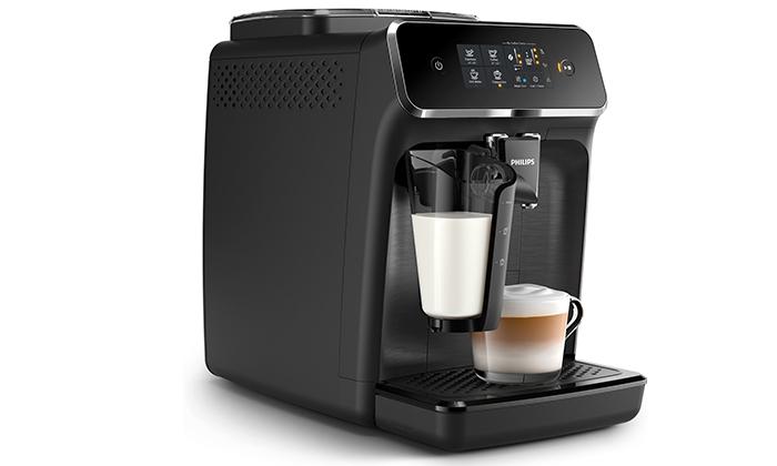 מכונת קפה טוחנת Philips עם 10 טעמי פולי קפה JOE - משלוח חינם
