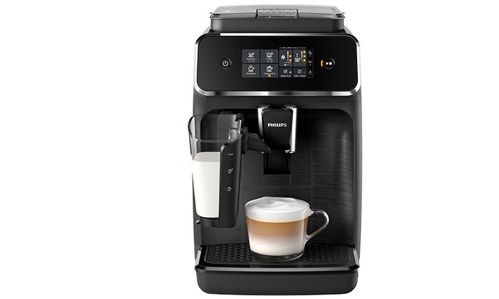 3 מכונת קפה טוחנת Philips עם 10 טעמי פולי קפה JOE - משלוח חינם