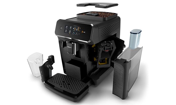 4 מכונת קפה טוחנת Philips עם 10 טעמי פולי קפה JOE - משלוח חינם