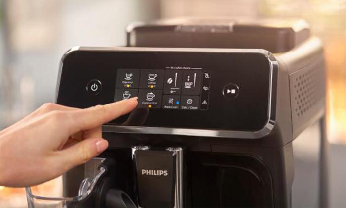 5 מכונת קפה טוחנת Philips עם 10 טעמי פולי קפה JOE - משלוח חינם