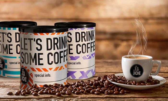 8 מכונת קפה טוחנת Philips עם 10 טעמי פולי קפה JOE - משלוח חינם