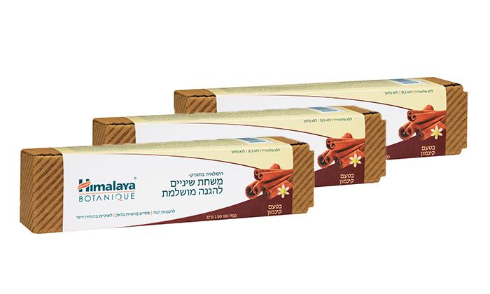 2 3 יחידות משחת שיניים בטעם קינמון הימלאיה Himalaya