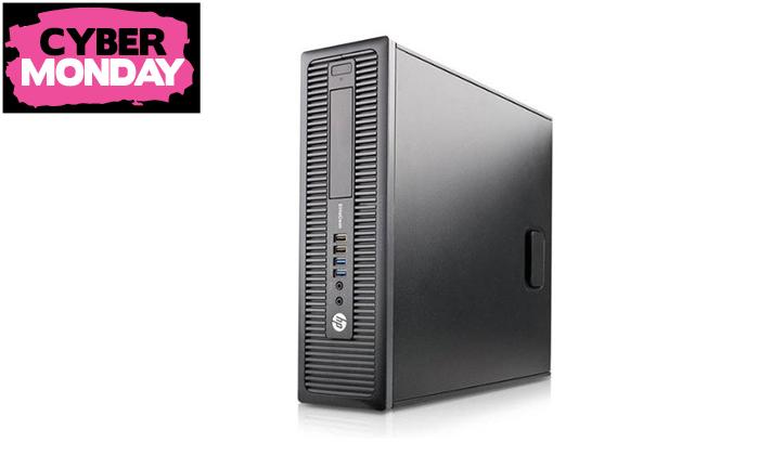 3 מחשב נייחHP עם מעבד i5 וכרטיס מסך GeForce GTX 1050 Ti