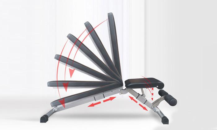 3 ספסל אימון מתקפל TEO SPORT דגם SIX-M
