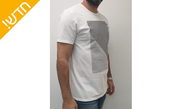 3 חולצת טי שירטקצרה קנת קול לגברים Kenneth Cole