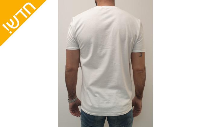 4 חולצת טי שירטקצרה קנת קול לגברים Kenneth Cole