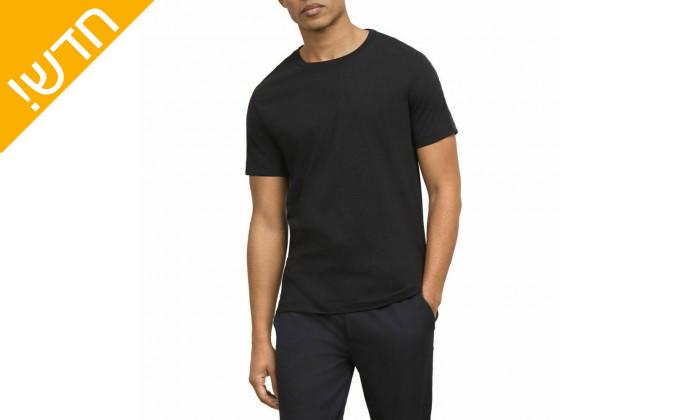 2 חולצת טי שירט קצרה קנת קול לגברים Kenneth Cole