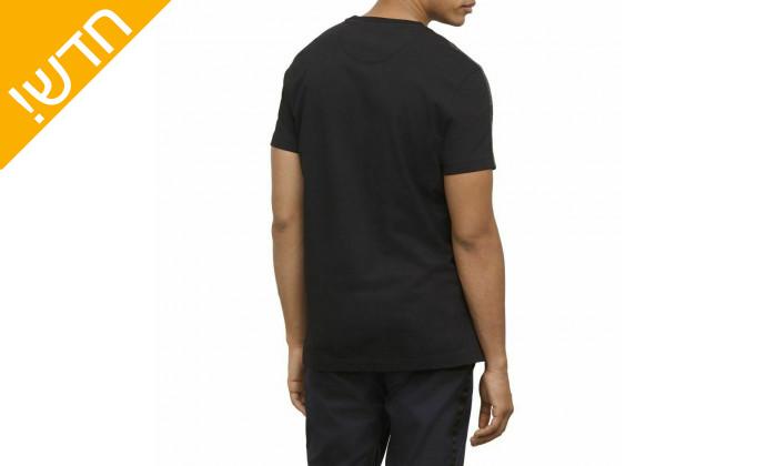 3 חולצת טי שירט קצרה קנת קול לגברים Kenneth Cole