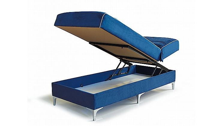4 מיטה ברוחב וחצי Or Design, דגם בונד עם ארגז מצעים