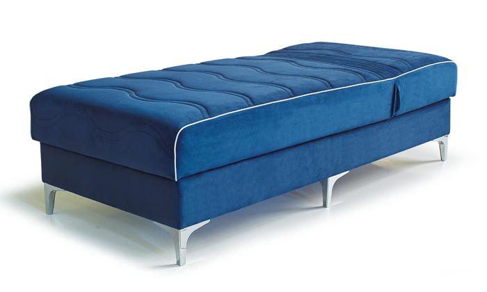 3 מיטה ברוחב וחצי Or Design, דגם בונד עם ארגז מצעים