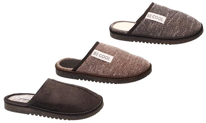 נעלי בית לגברים Be Cool