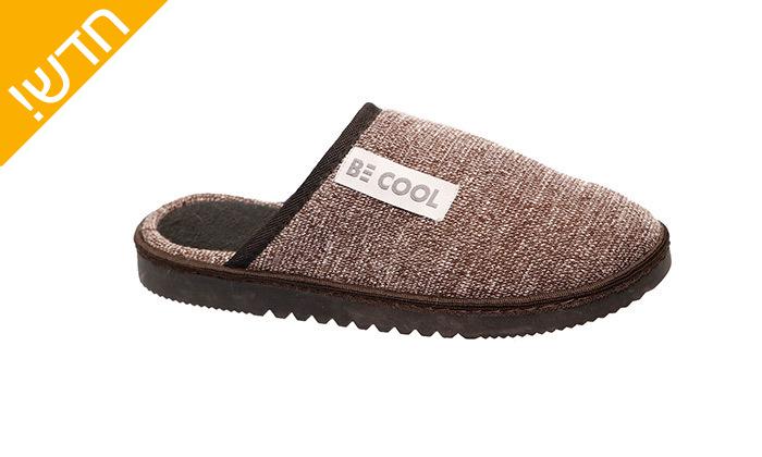 6 נעלי בית לגברים Be Cool